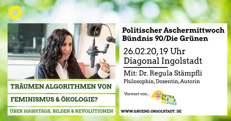 Politischer Aschermittwoch der GRÜNEN Ingolstadt