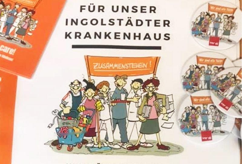 """GRÜNE unterstützen """"Tariflohn für Alle"""" im Klinikum"""