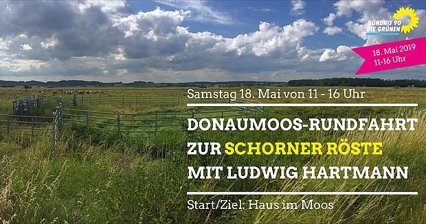 Donaumoos-Rundfahrt mit Ludwig Hartmann MdL