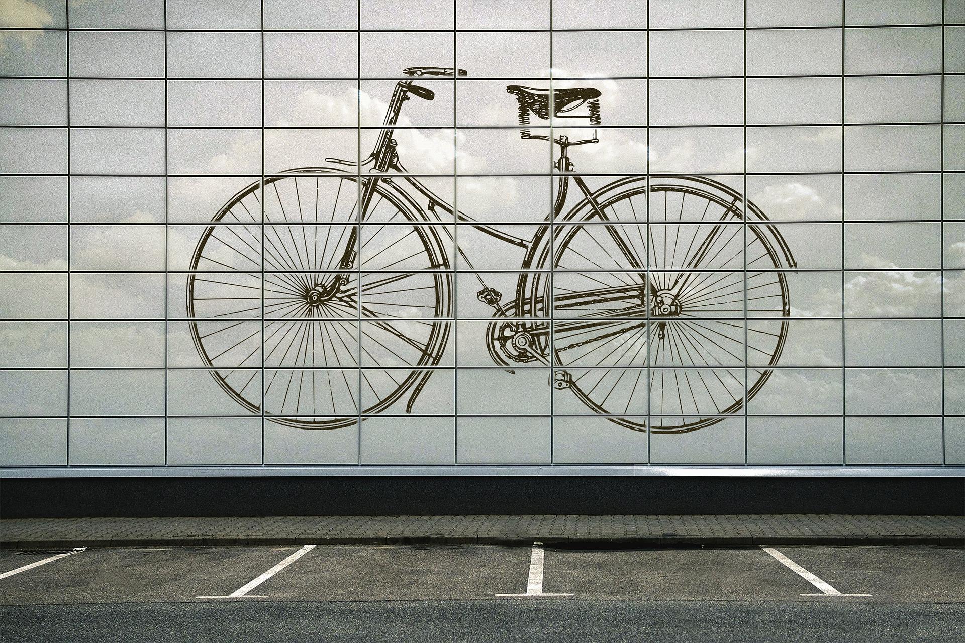Tiefgaragenplätze für Fahrräder