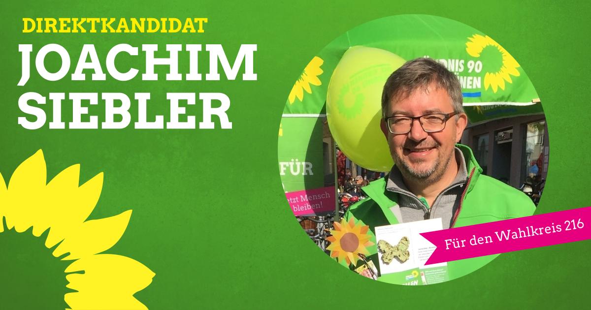 Joachim Siebler, unser Direktkandidat